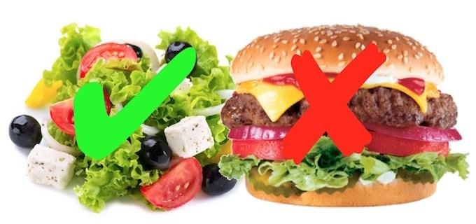 Birger vs Salad