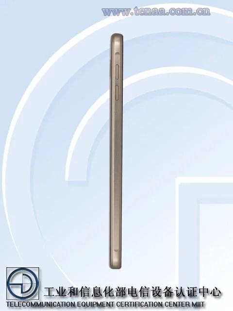 Galaxy A9 Pro Volume key