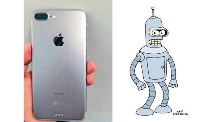 iPhone 7 Plus dual rear camera