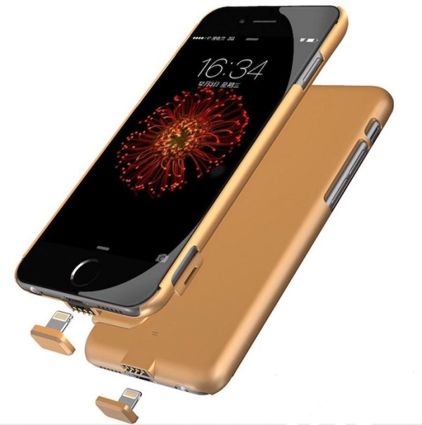 iPhone case with power bank