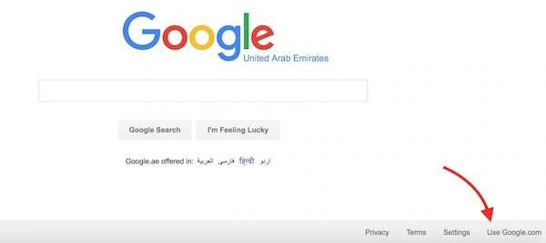 Google US Search