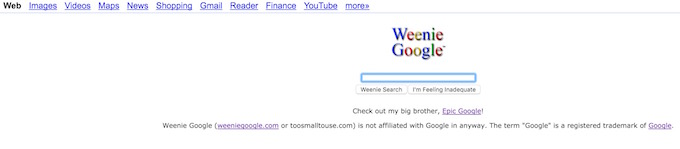Google Weenie
