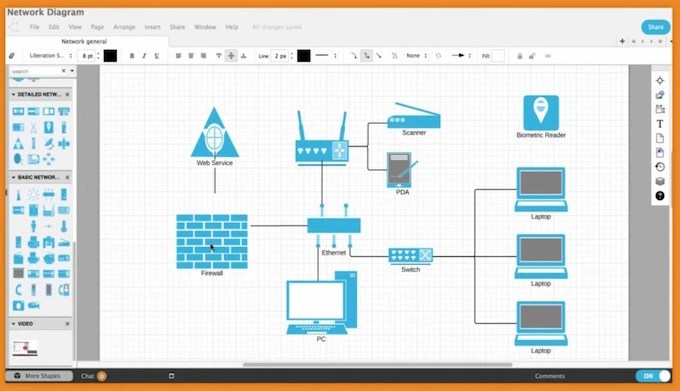 LucidChart For Mac & Linux MS Visio Alternative
