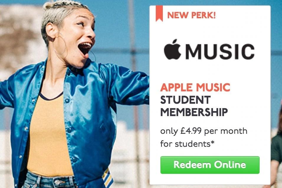 Apple Music 50 Percent Discount