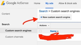 New Custom Search