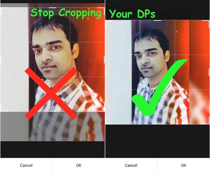 Stop Cropping DPS