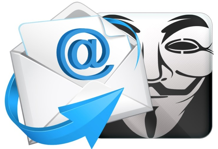 Websites to send free Anonymous Email with fake identity