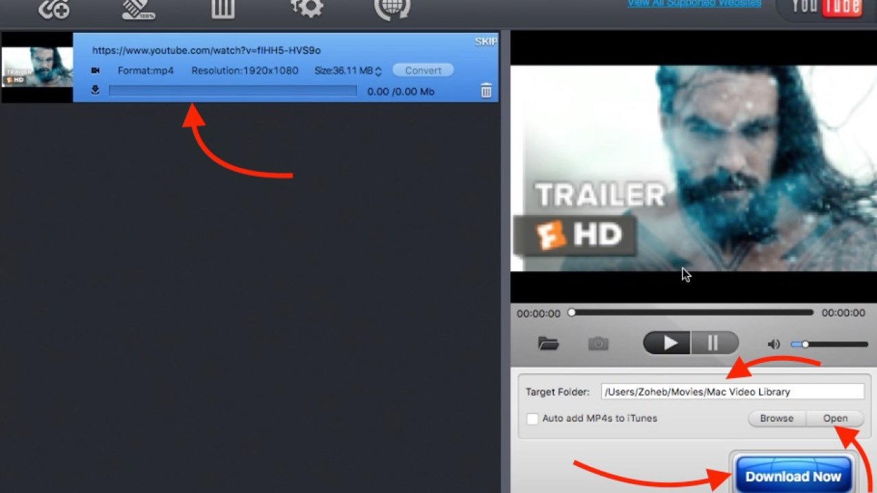 MacX Free YouTube Downloader App for Mac OS X
