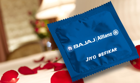 Bajaj Allianz condom