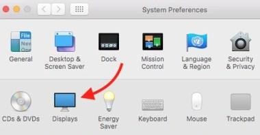 Display icon mac