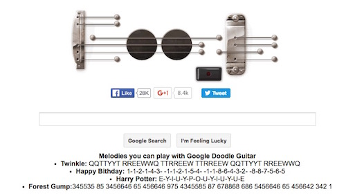 Elgoog Guitar