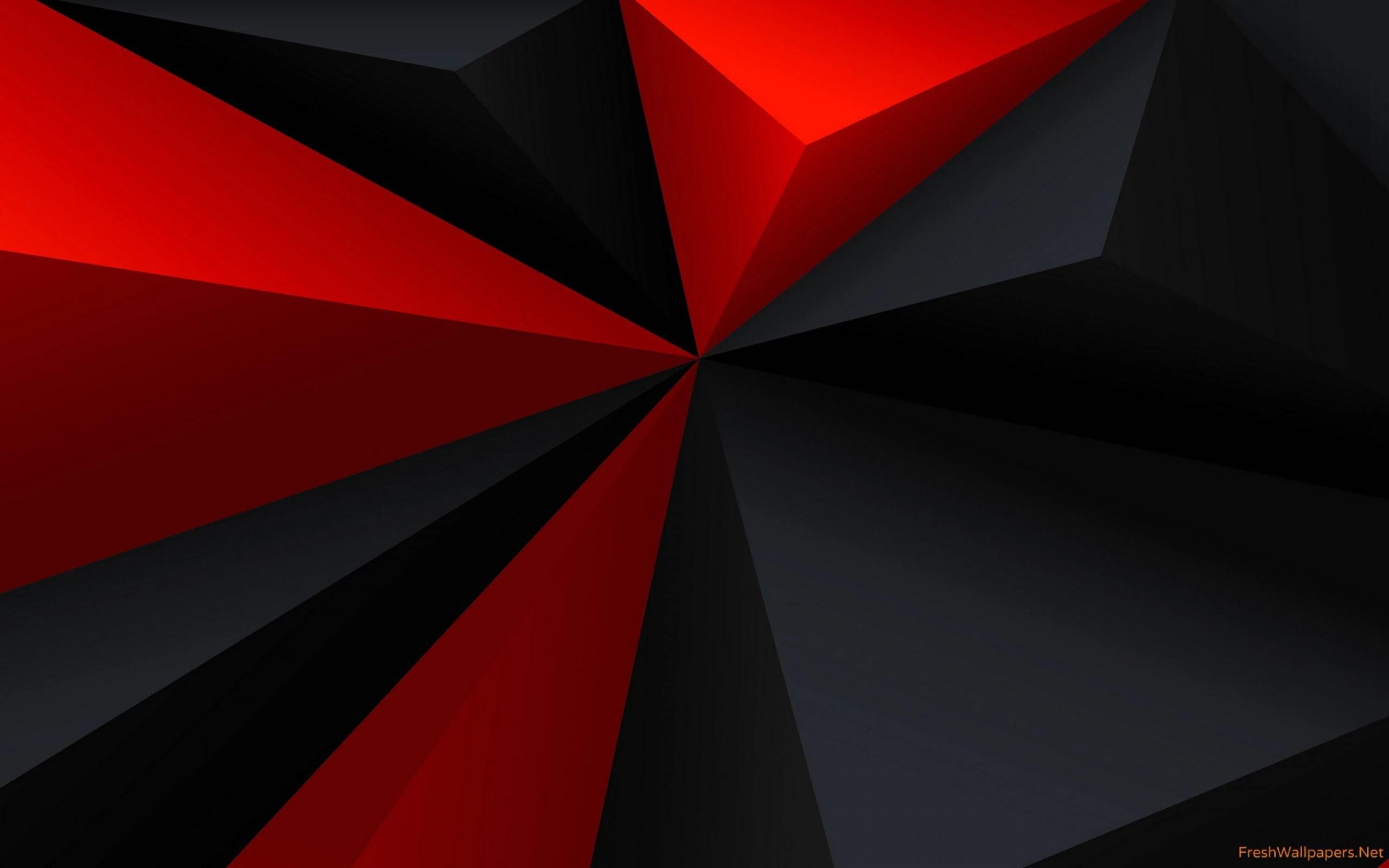 Red Black mix HD Wallpaper