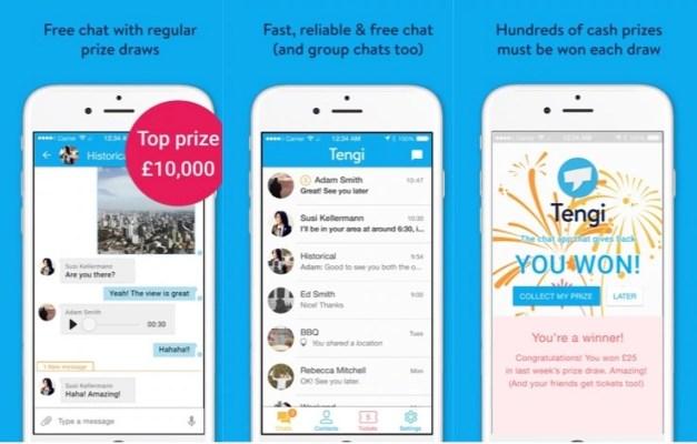 Tengi Social Messaging App