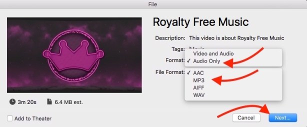 Video to Mp3 on Mac
