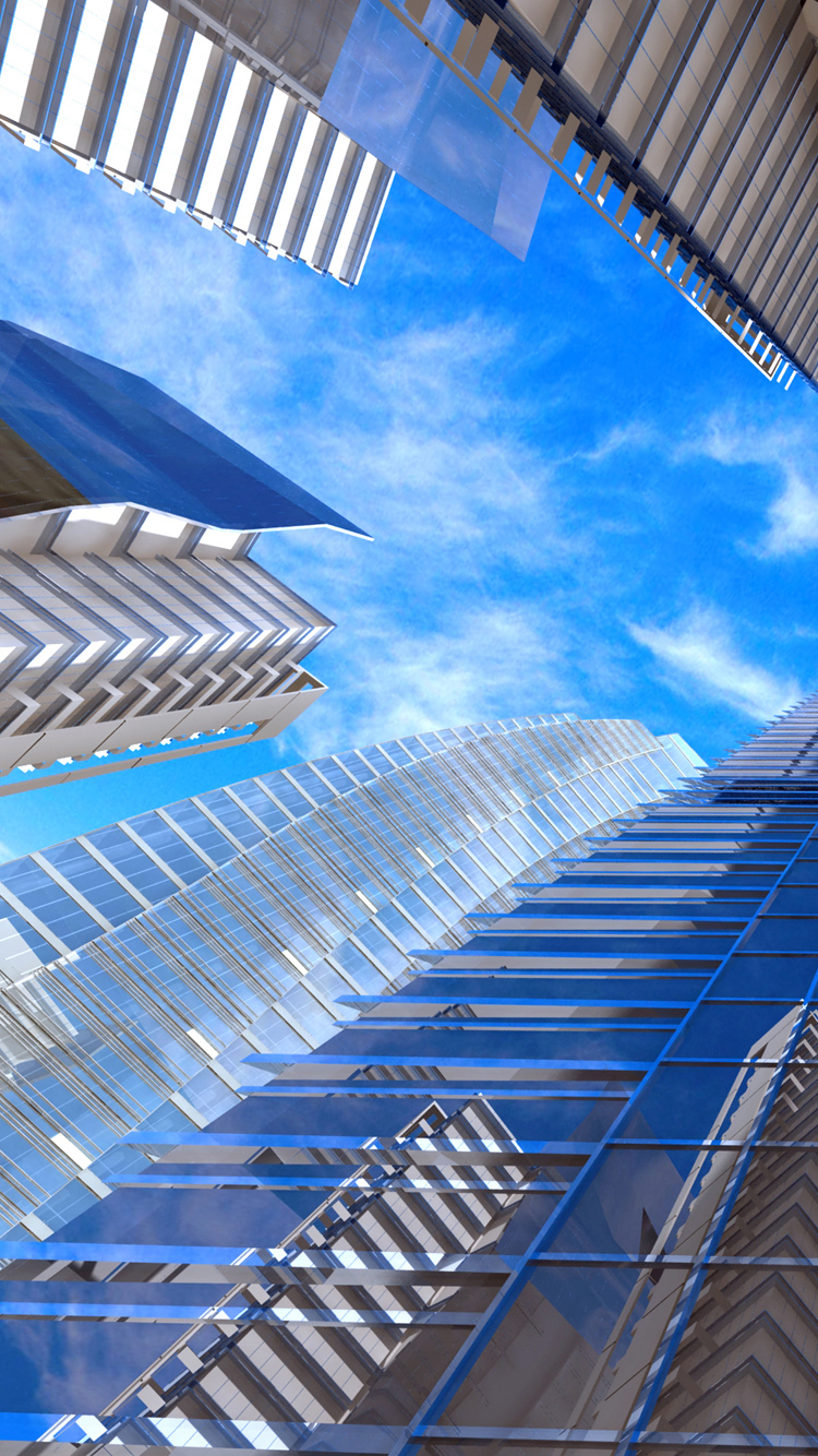 iPhone 6 building wallpaper