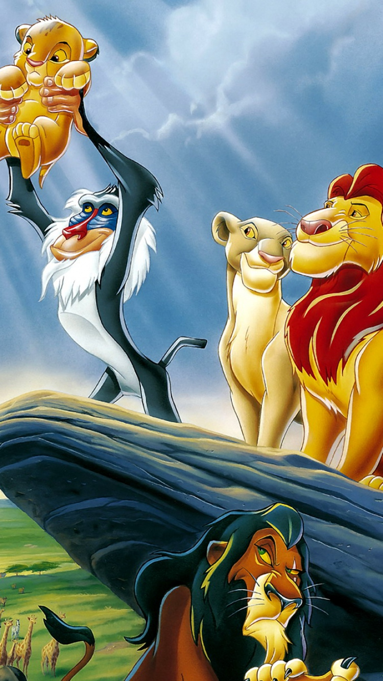 iPhone 6s Lion King Wallpaper