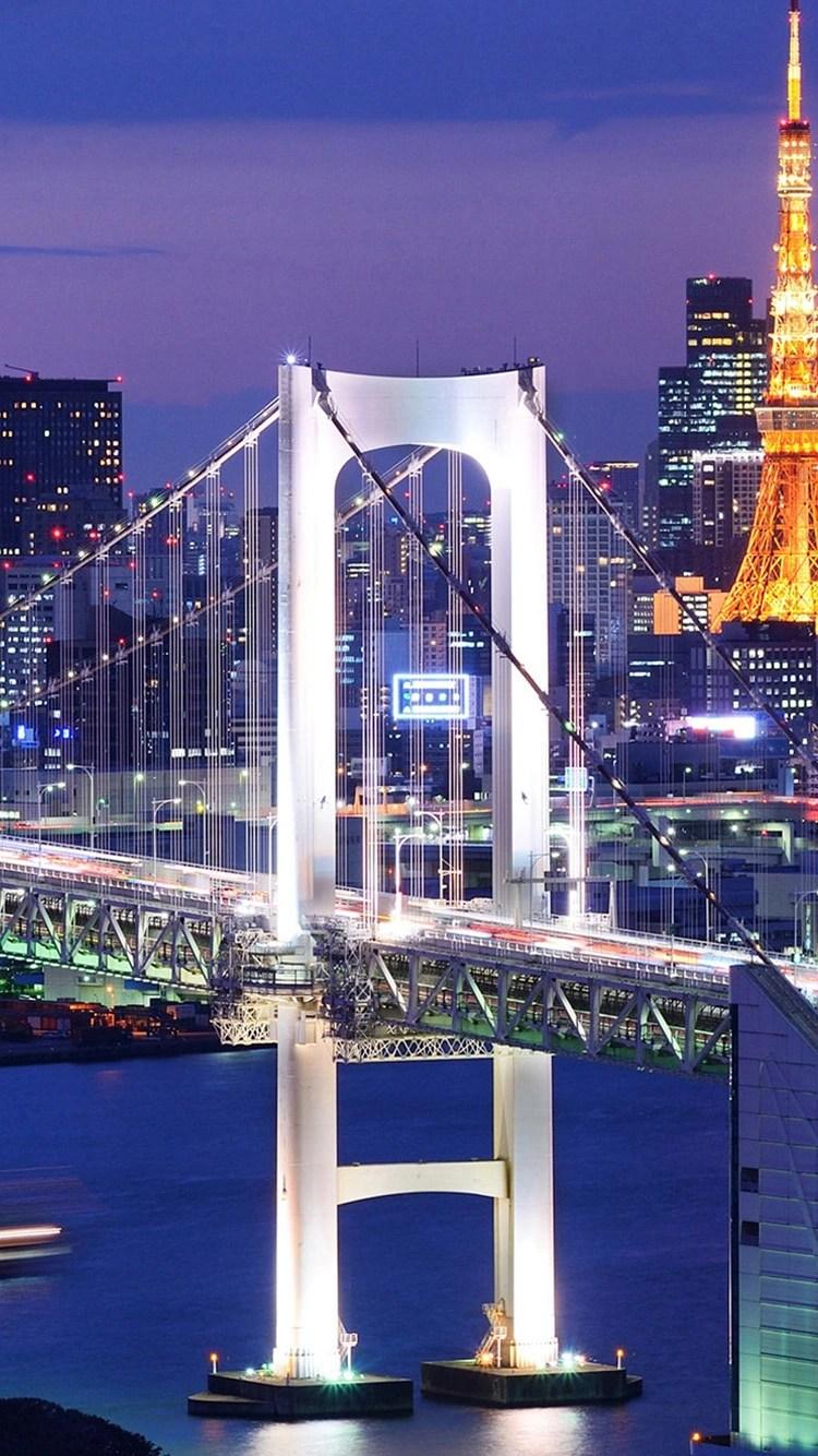 iPhone-6s-bridge-in-light-wallpaper