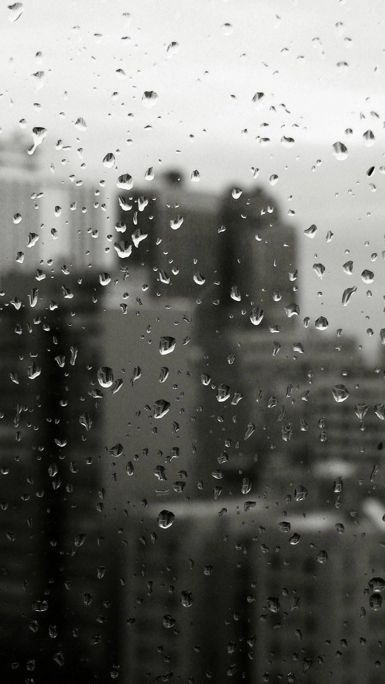 iPhone 6s water on window wallpaper