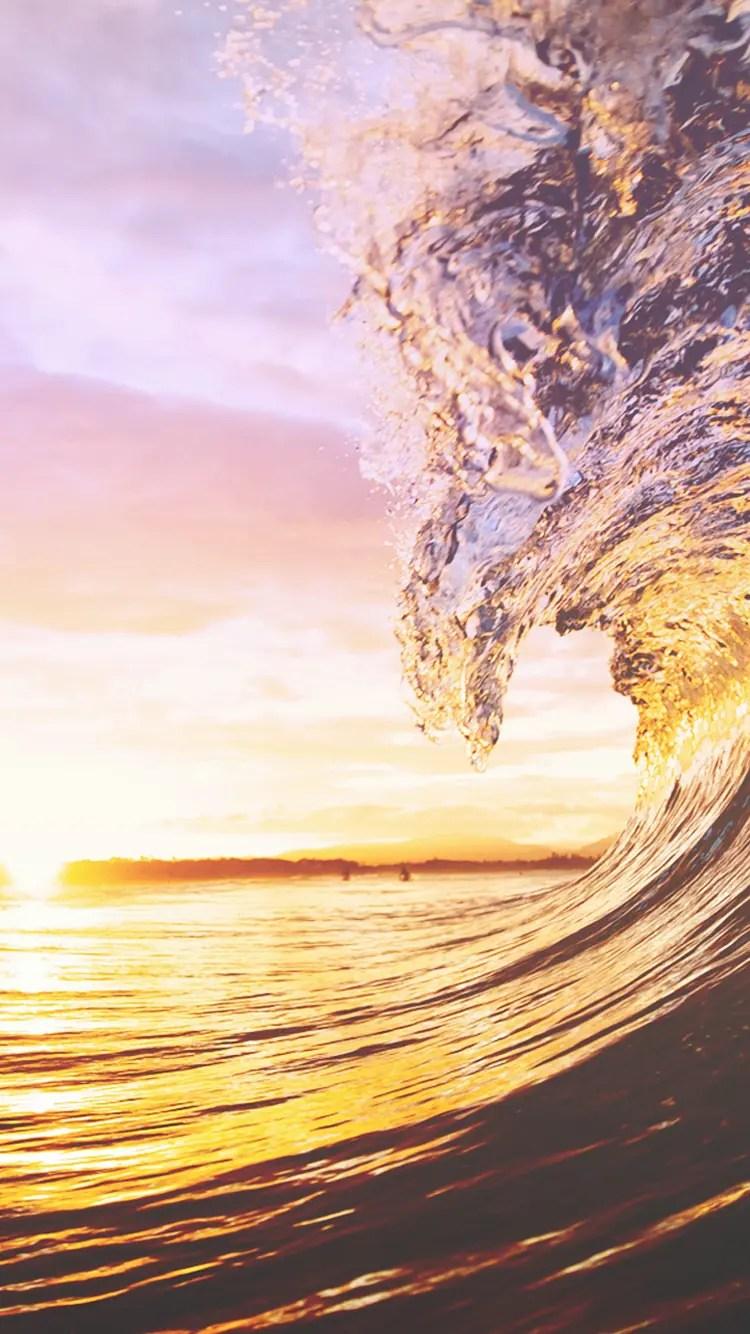 iPhone 6s water sea wallpaper