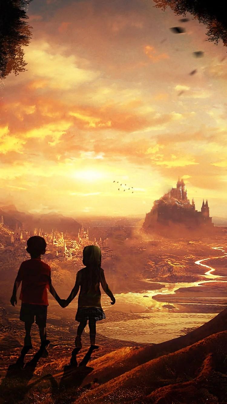 iPhone 7 children wallpaper