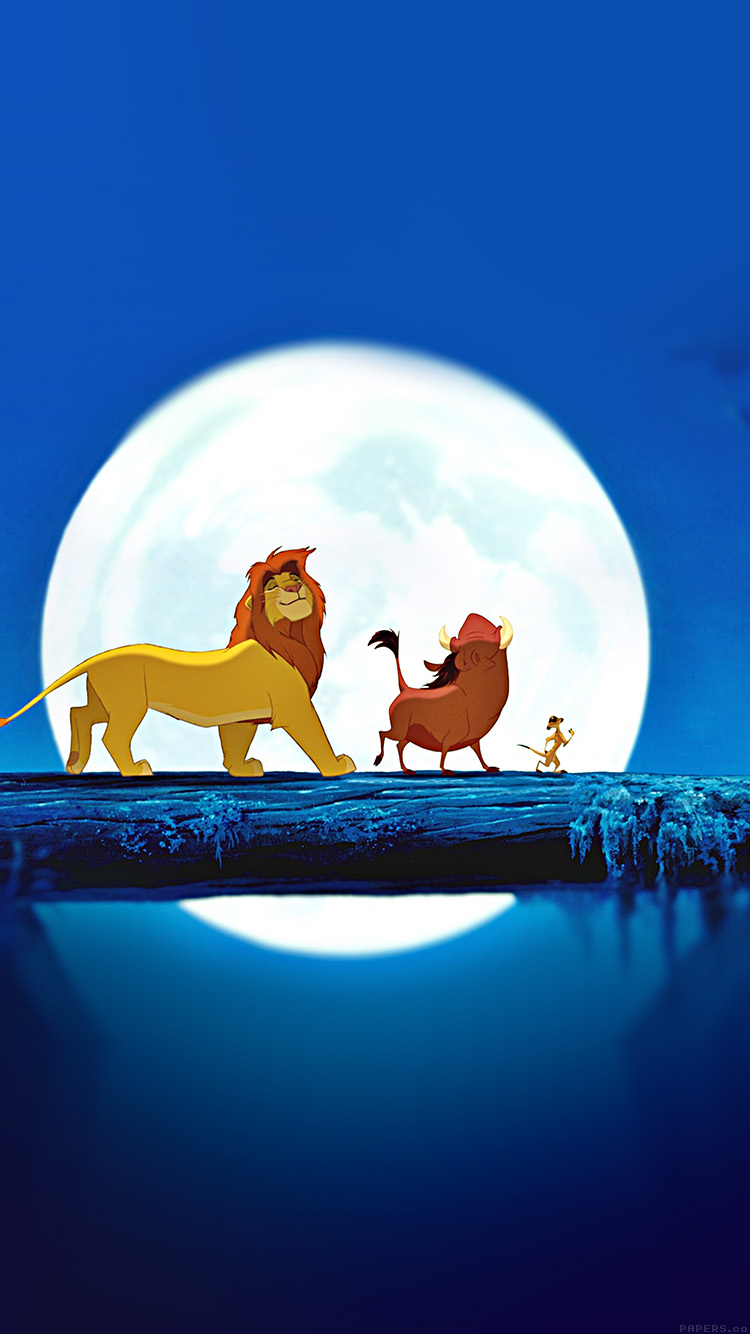 iPhone 7 lion king wallpaper