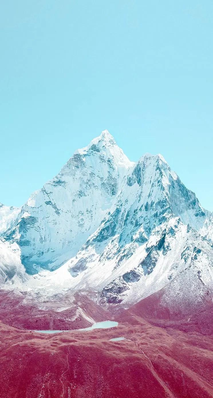 mountain sky whatsapp chat image