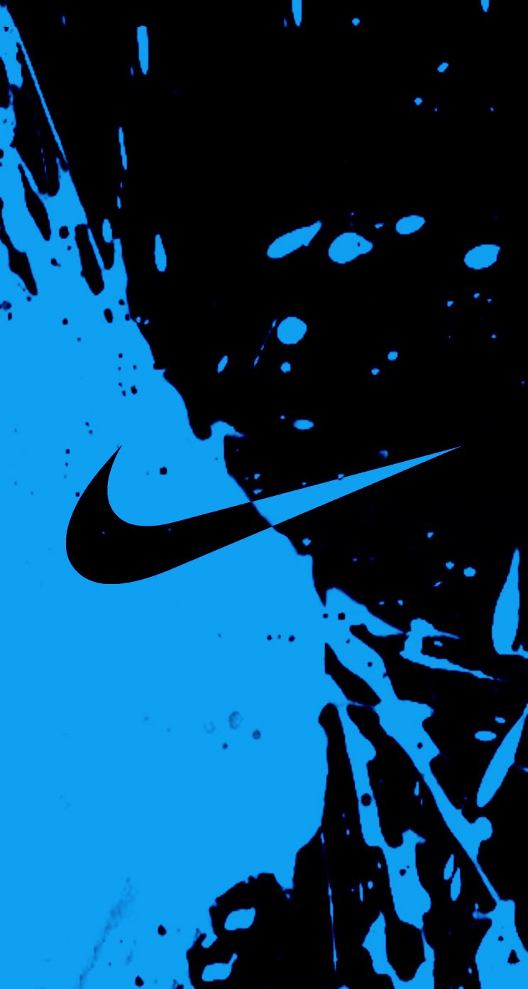 nike blue wechat theme