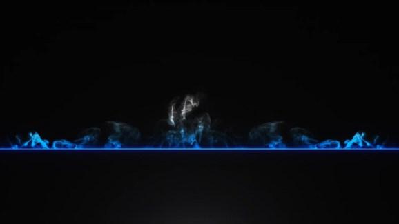 3d Black background effect