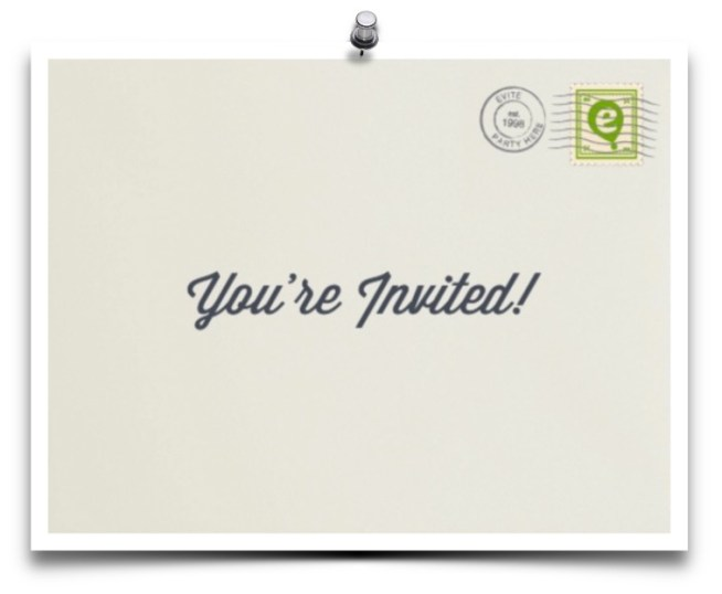Featured Image online invitation
