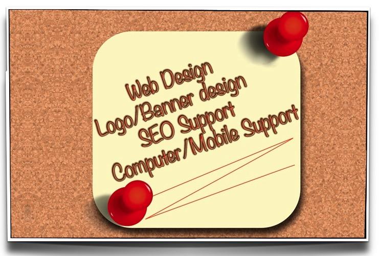 Logo Web Design Tech Support