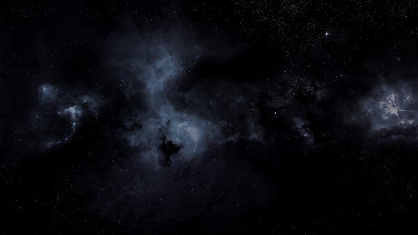 Outer Space Black Background