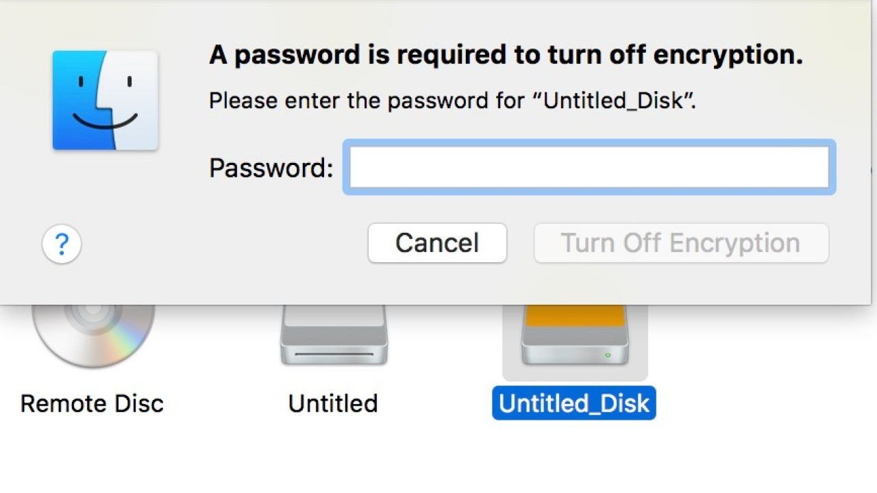 How to Decrypt USB or External Storage On Mac OS