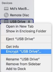 Encrypt USB or External Drive With Password on Mac
