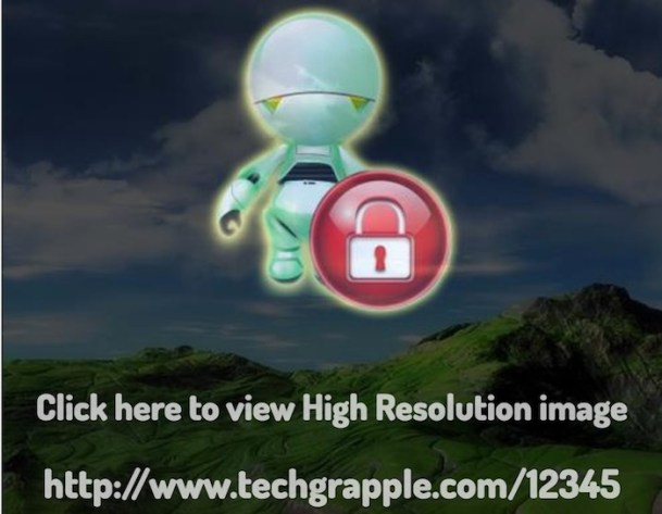 Protect images from hotlink