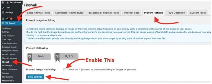 Wordpress Plugin to prevent image hotlink