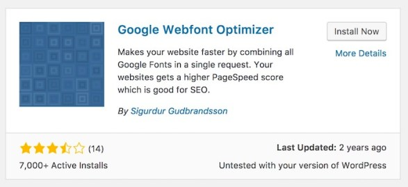 Google Webfont