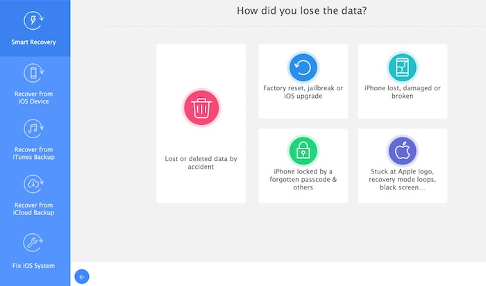 iMyFone D-Back iPhone Data Recovery Tool to Recover Lost/Deleted Data