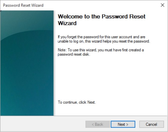 Password reset wizard1