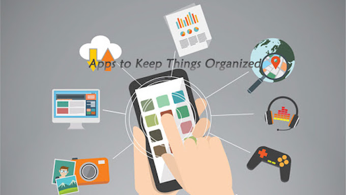 apps to keep things organized