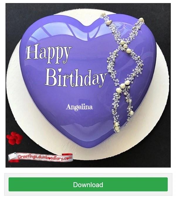 Write name on cake