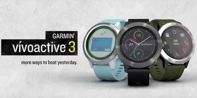 Garmin Vivoactive 3 cel mai bun raport multisport