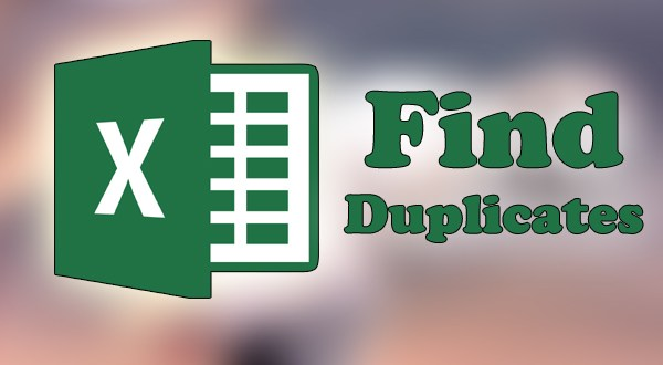 how to find duplicate in excel