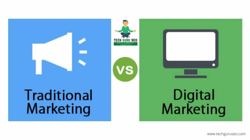 How Traditional Marketing Is Different From Digital Marketing