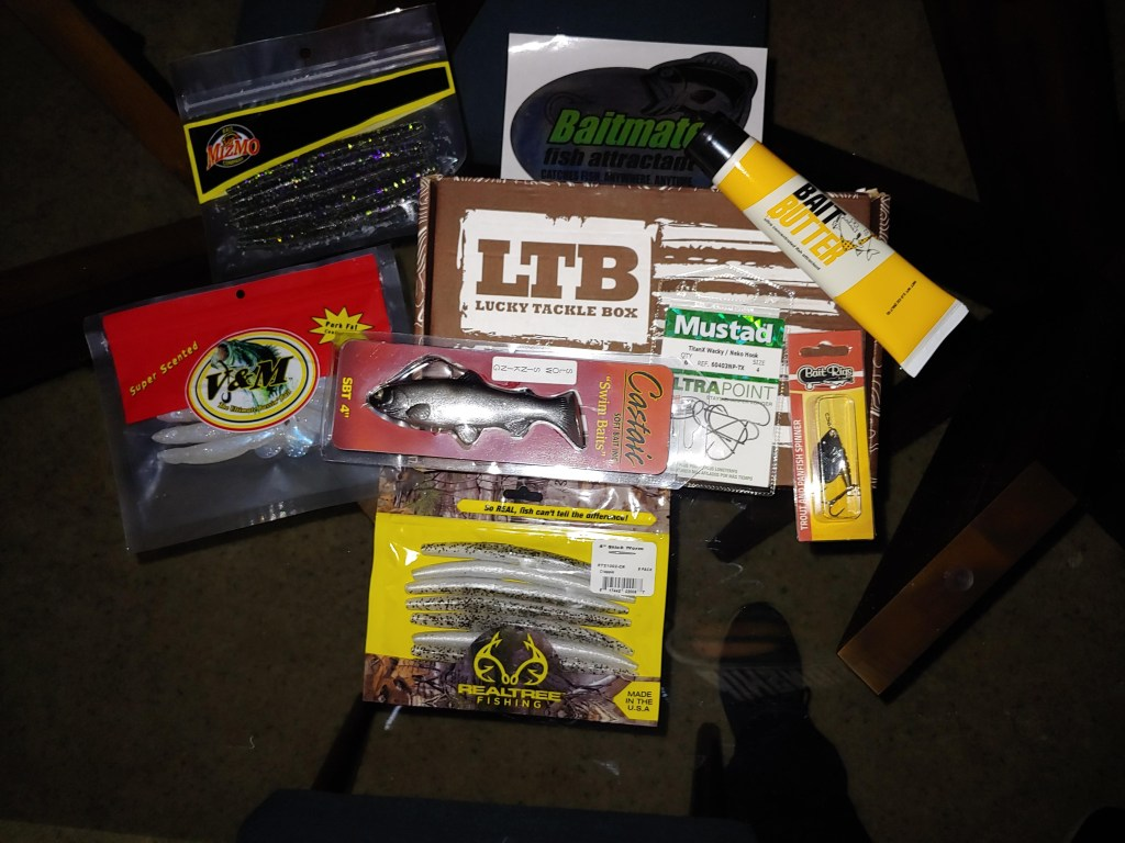 Lucky Tackle Box Unboxing!!