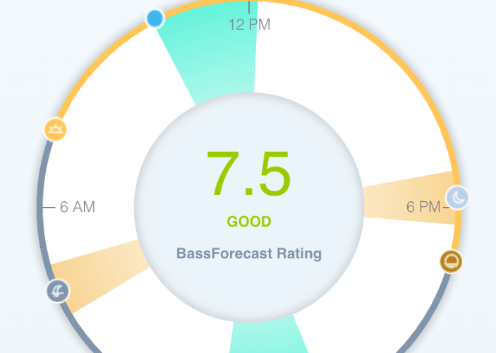 Bass Solunar Rating