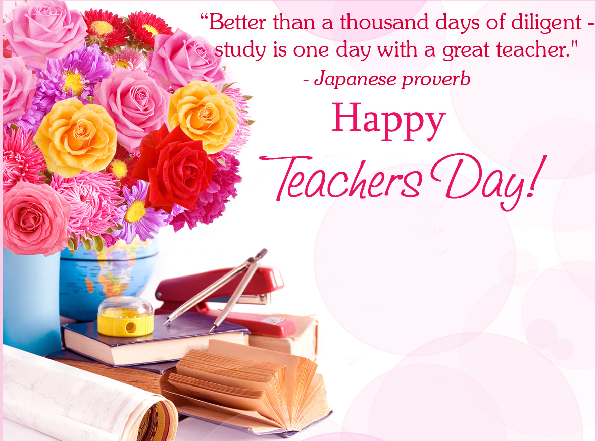 Happy Teachers Day Greeting Cards Free Download