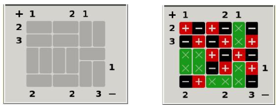 Magnet Puzzle - Techie Delight