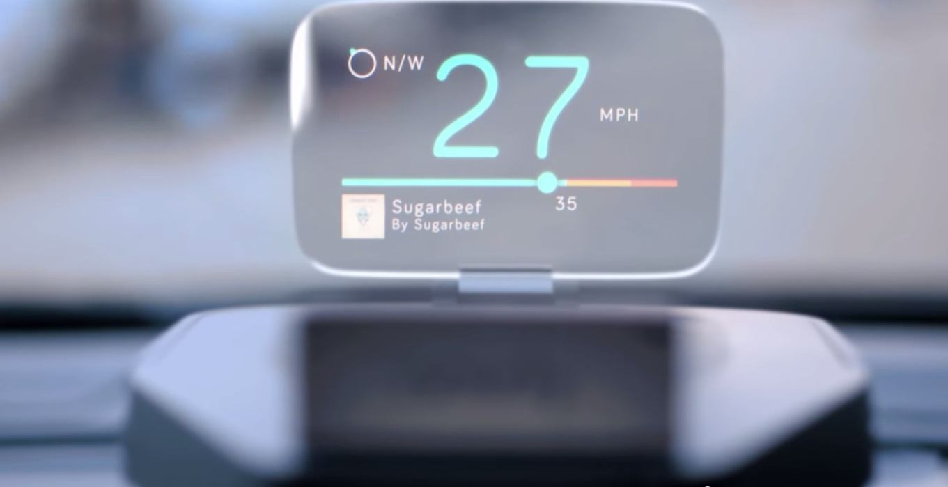 The Navdy Car HUD Making Mobile Communication Truly