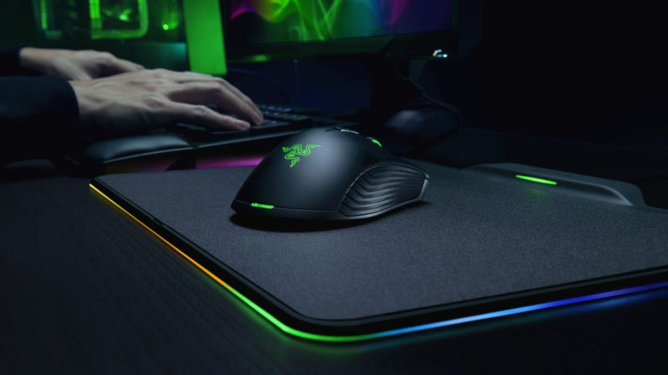 what are mouse pads made of