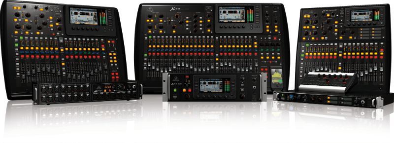 behringer unleashes four new digital mixers techie talk. Black Bedroom Furniture Sets. Home Design Ideas